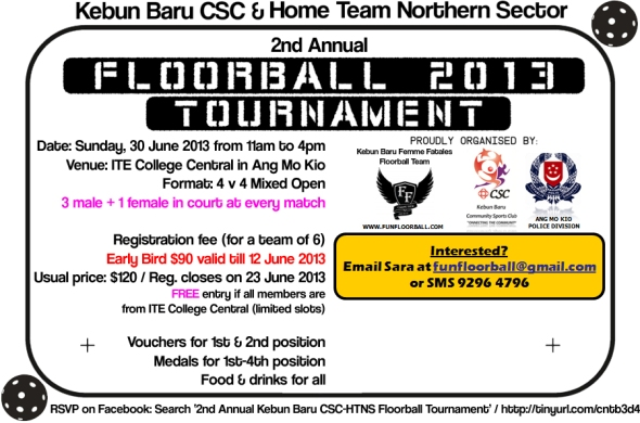 Floorball Tournament 2013